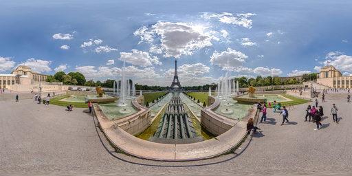 تروکادرو پاریس(Trocadero)
