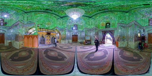 آینه کاری های حرم امامزاده سید علاءالدین حسین، شیراز