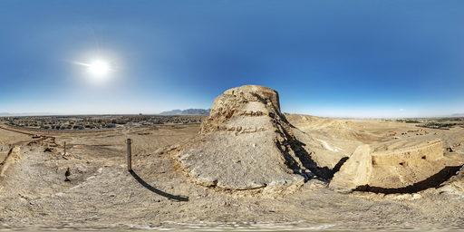 برج خاموشان، یزد