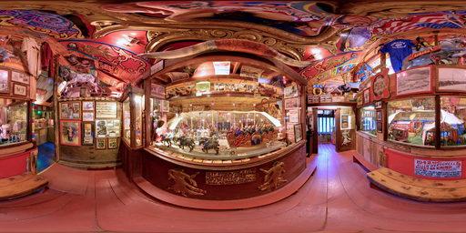 اتاق سیرک در موزه تینکرتون