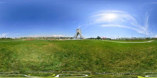 برج آزادی و قله دماوند